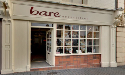 Bare Necessities Lingerie Boutique Outside View