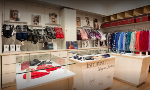 Lingerie Blain Lingerie Boutique Inside View