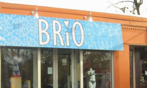 brio lingerie store outside