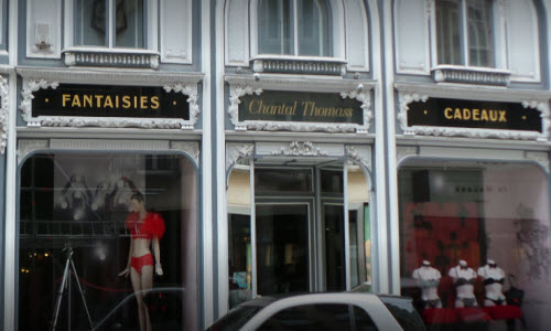 Chantal Thomass Lingerie Boutique outside View