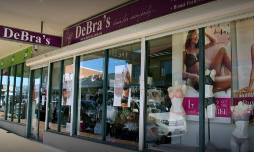 DeBra's Lingerie Boutique outside View