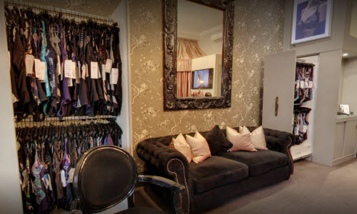Dickory Dock Lingerie Boutique Inside View