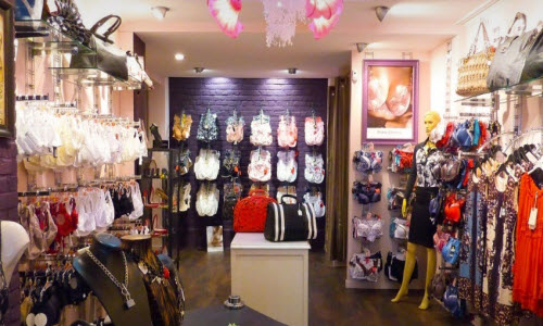 Dyvany Lingerie Boutique Inside View