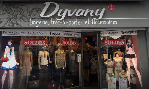 Dyvany Lingerie Boutique outside View