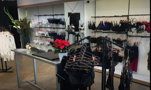 KissKill Lingerie Boutique Inside View