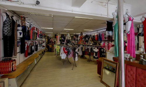 Passion Lingerie boutique store inside view