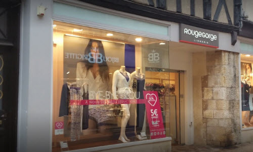 RougeGorge Lingerie Boutique outside View