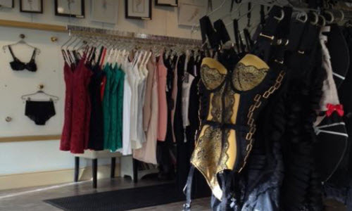 Secrets From Your Sister Lingerie Boutique Inside View