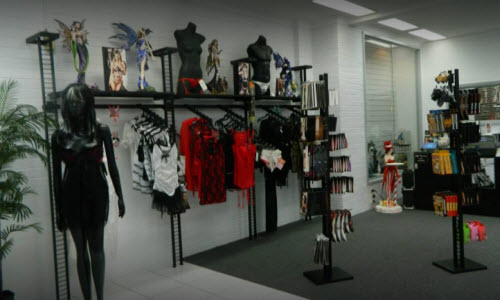 Sharica Lingerie Boutique Inside View