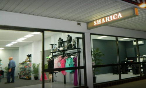 Sharica Lingerie Boutique outside View