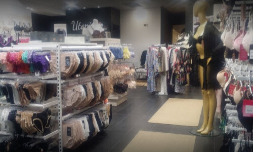 Utopia Lingerie Boutique Inside View