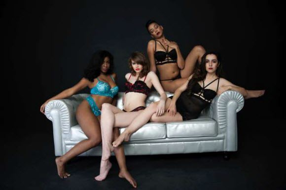 Juliana Richards Lingerie Collection
