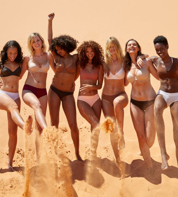 American Eagle Aerie Lunches A New Nude Lingerie Line