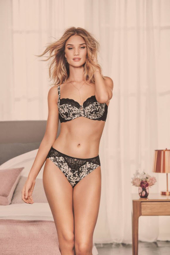 M&S Release Rosie Huntington- Whiteley Lingerie Collection