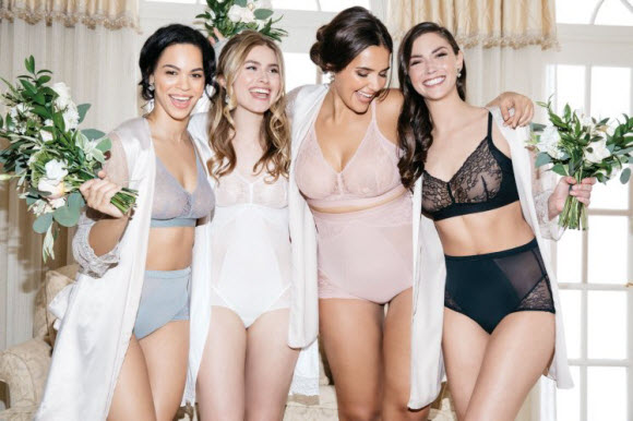 Spanx has just launched a bridal lingerie range that's too pretty for just one day