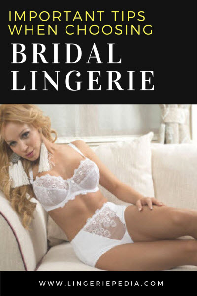 Important Tips When Choosing Bridal Lingerie