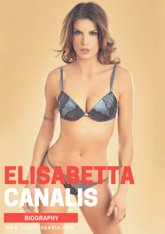 Elisabetta Canalis name,birthday,nationality,height,eye color,hair color,measurements,bra size,shoe size,sexual orientation,dress size and religion