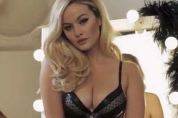 Lingerie advert banned for being TOO sexy