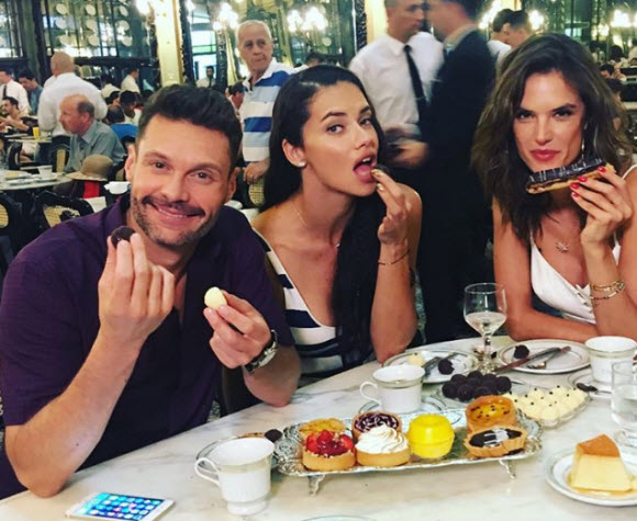 Is Adriana Lima Dating Ryan Seacrest ?
