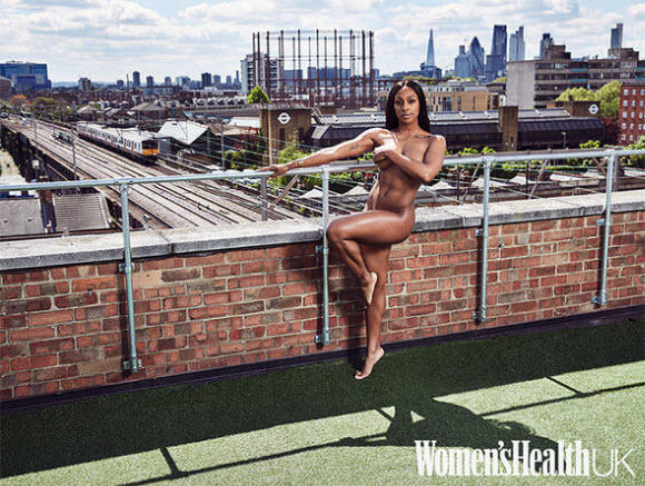 Alexandra Burke Poses Completely Naked For Women's Health Magazine
