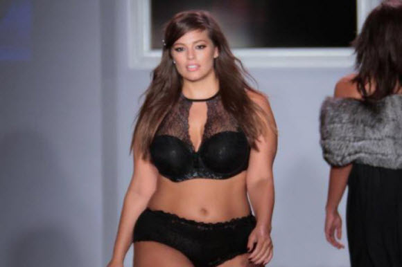 Ashley Graham Bares Her Derriere, Putting Out A 'Cheeky' Display