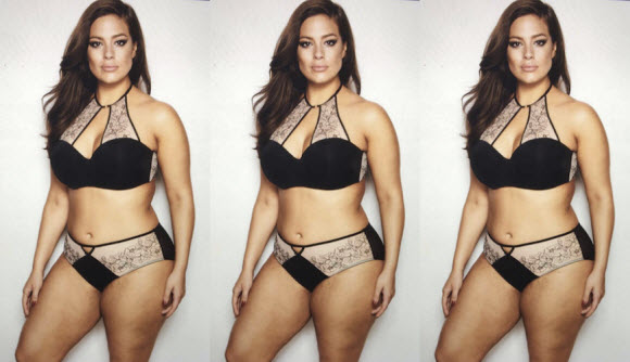 Ashley Graham Looks Confident AF In This Unfiltered Lingerie Photo