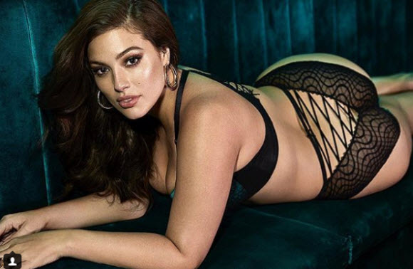 Ashley Graham Displays Her Sexy Cleavage In Seriously Saucy Clip For Love Advent Calendar