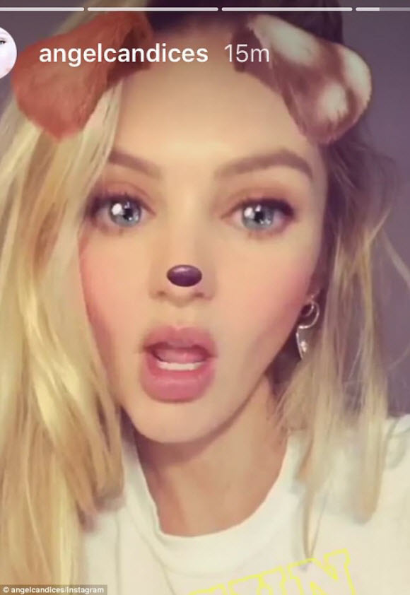 Candice Swanepoel Proves Breast Is Best By Posting Snap Feeding Her Son