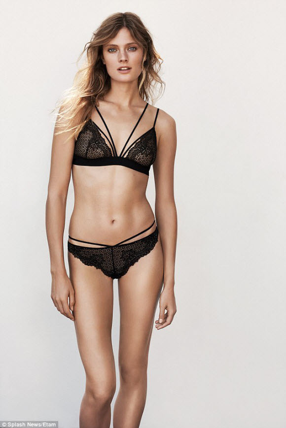 Constance Jablonski Sizzles In An Array Of Skimpy Lingerie As She Poses Up A Storm For Underwear Campaign