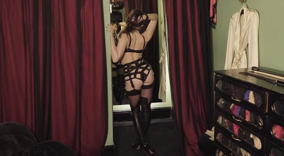Agent Provocateur's Sexy New Advert Showing Daisy Lowe Flaunts Her Assets And Pert Derriere
