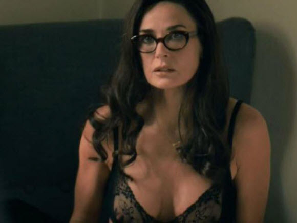 Demi Moore Strips Off To Her Lingerie In Sexy New Scenes