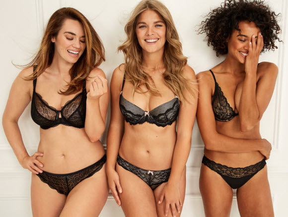 Curvy Lingerie Model Slams Plus-Size Label While Stripping Of For Sizzling New Campaign