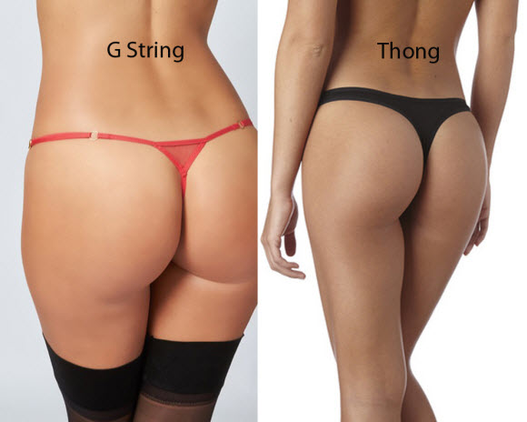 What Is The Different Between G-string And Thong