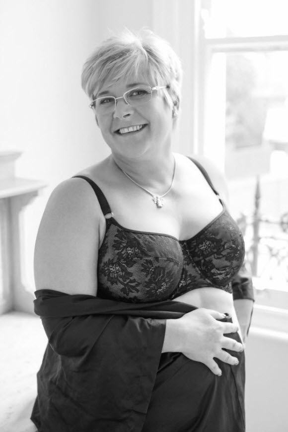 Panache chose models for its new lingerie campaign based on their achievements, not just their bodies - Jayne Hurditch