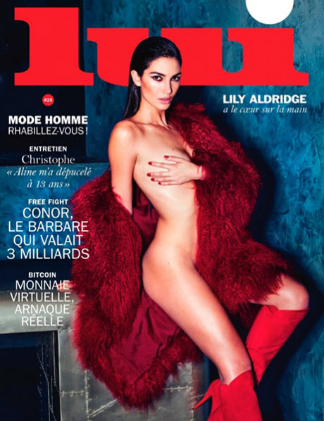Lily Aldridge Sizzless On The Latest Cover Of Lui Magazine