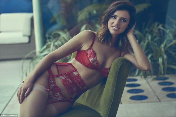 Lucy Mecklenburgh-Boux Avenue's new lingerie collection
