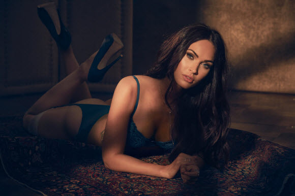Stunning Megan Fox Looks Impressive in Frederick's of Hollywood's Sexy Fall 2017 Campaign
