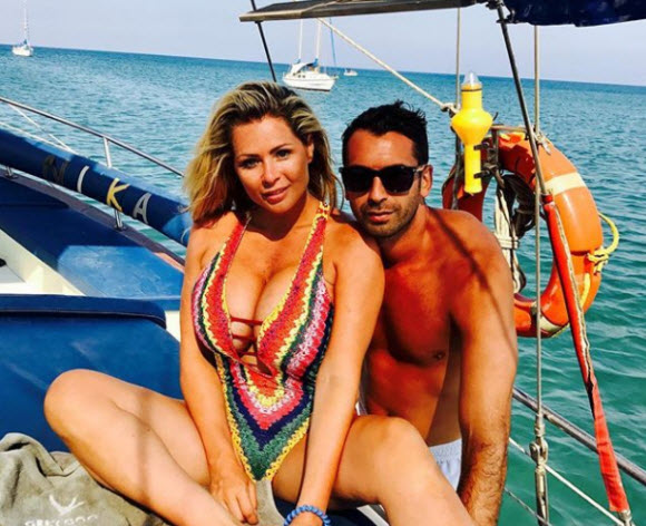 Nicola McLean Posts More Busty Snaps In A Sexy Swimwear While Enjoying Her Time Under The Sun