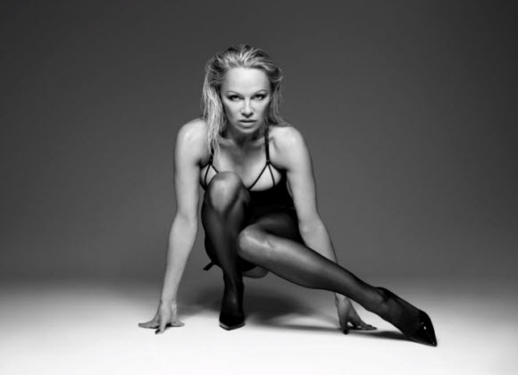 Pamela Anderson Stars In New Lingerie Campaign For Coco De Mer
