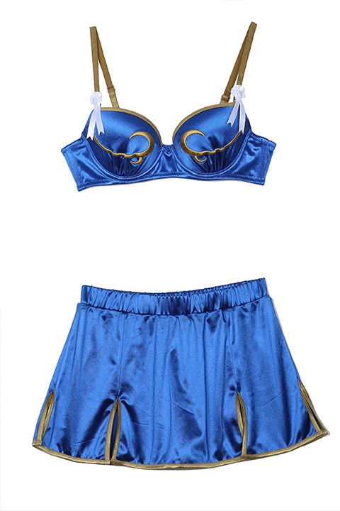 Fashion Brand SuperGroupies Released Street Fighter Lingerie Set Collection