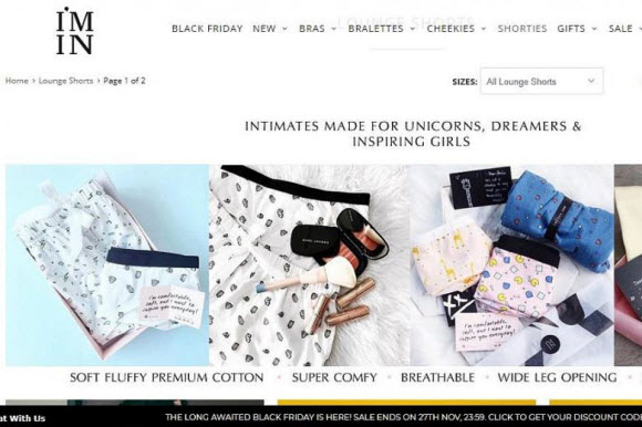 Susy and Bae Singapore Lingerie Brands Find Success Online