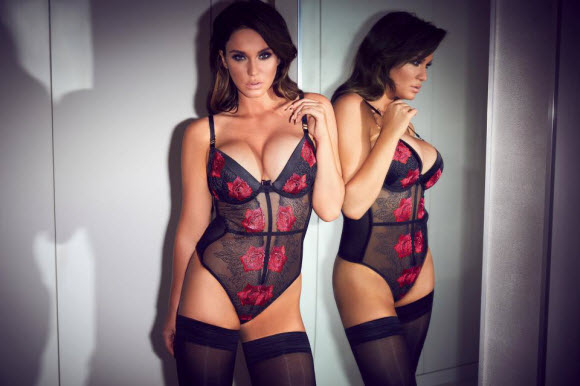 Vicky Pattison Strips Down To Lingerie After Named Ann Summers ambassador