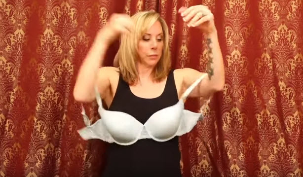 How To Put On A Bra By Yourself